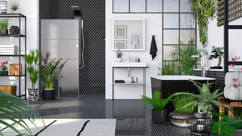 Urban Jungle Bathroom - Bathroom  - by LB1981