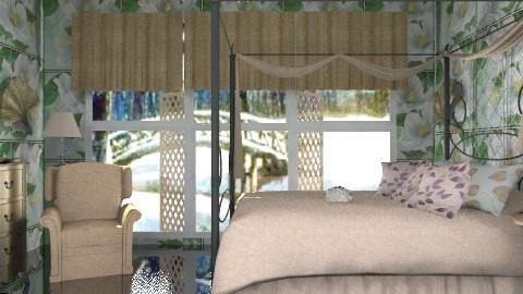 Wonderful winter night - Glamour - Bedroom  - by milyca8