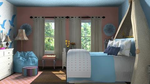 Bedroom Ideas - Vintage - Bedroom  - by Open Spaces