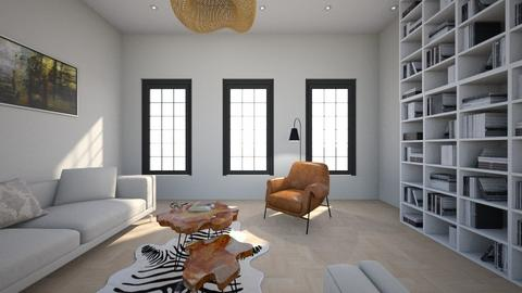 library living - Living room  - by Amy Robberts