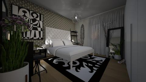 Flat 24 Master Bedroom - Classic - Bedroom  - by LuzMa HL