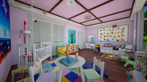 """queen"" room - Kids room - by Conchy"