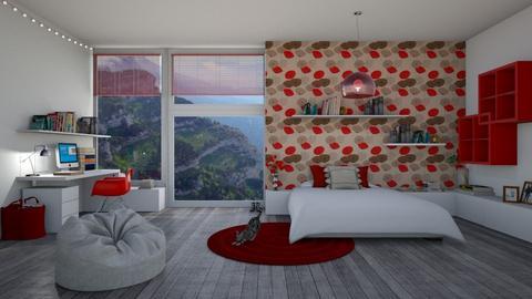 Poppy BDRM - Bedroom  - by Miss MH