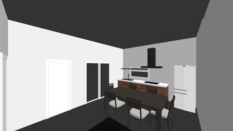 1 - Modern - Kitchen  - by carvelo