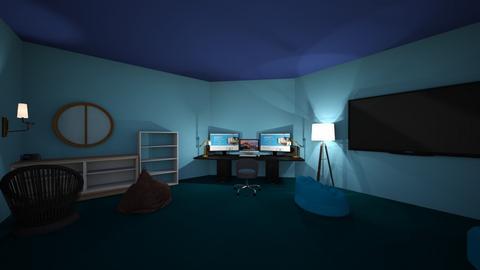 Gaming Den - Modern - by GrayninjaYO
