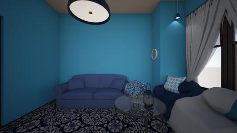 blue I think - Living room  - by izick13