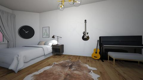 Bedroom and music room - Bedroom  - by EvaGucci
