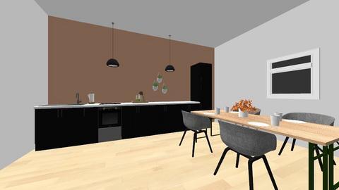 Kjokken - Kitchen  - by theasofie2009