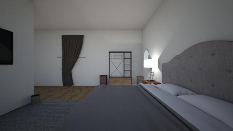 Bedroom 1 uncomplete - Rustic - Bedroom  - by cnorman