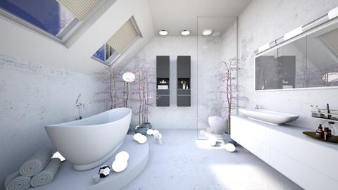 Zen Inspired Attic Bathrm - Bathroom - by jkngel