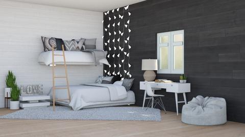 Cozy bunks - Minimal - Bedroom  - by WhyIsGamora