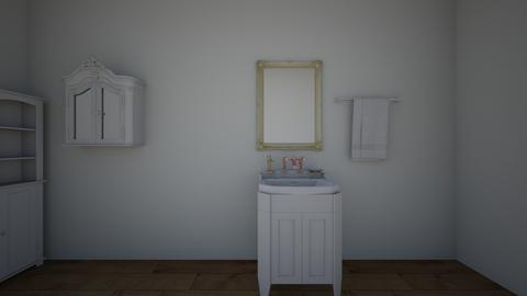Interior design room 02 - Bathroom - by Elif03