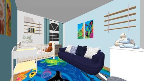 boy - Kids room  - by Agnessita