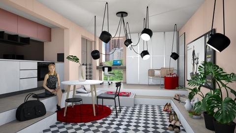 Uta - Living room  - by chania
