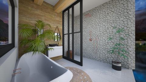 Attic Bathroom - Rustic - Bathroom  - by Taylah_Simone