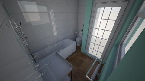 Inigo Jones Road - Bathroom  - by rachelbbridge