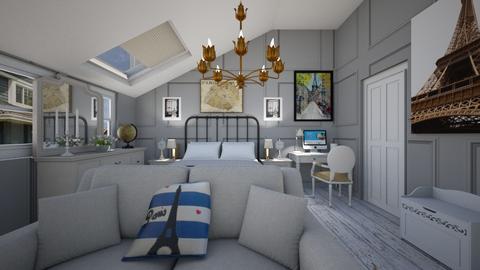 Parisian - Bedroom  - by SammyJPili