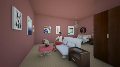 Taupe Dreams - Modern - Bedroom - by Elf_prettyballetgirl16