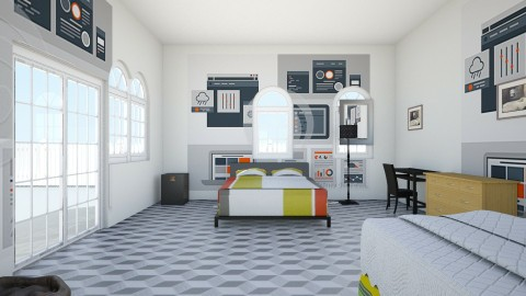 cola2 - Retro - Bedroom  - by Mohamed Nur Mohamed