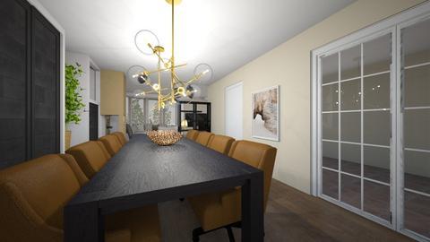 groen - Living room  - by Martineschreur