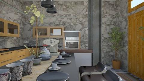 grey shades of kitchen 5 - Minimal - Kitchen  - by herjantofarhan