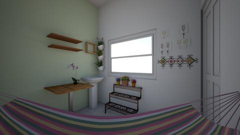 Area varanda - Rustic - by louisesa