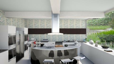 Flower_Kitchen - Modern - Kitchen  - by Gre_Taa