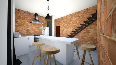 3 - Retro - Kitchen  - by ewcia11115555