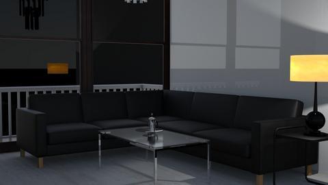 dark - Living room  - by tiredhel
