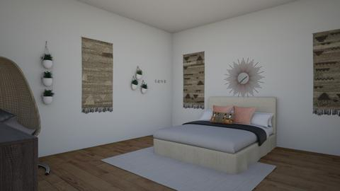 bohemian chic - Bedroom  - by XenaChico