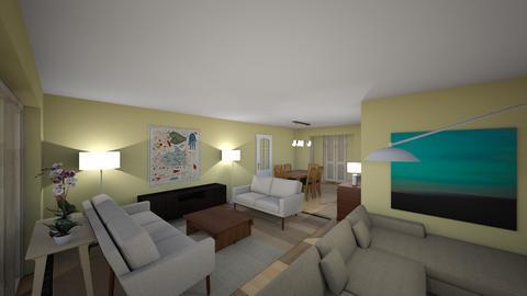 MBJ recepcionA vista 2 - Living room  - by bpgarqs