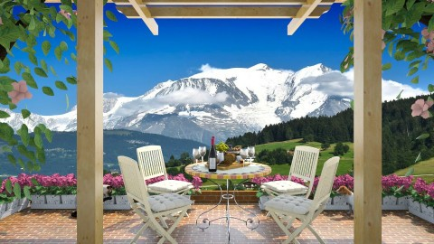 Alpine View - Garden  - by lydiaenderlebell