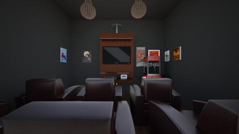 Theater Room - by Faith Forever