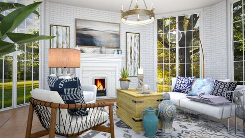 Little Cottage - Living room  - by Feeny