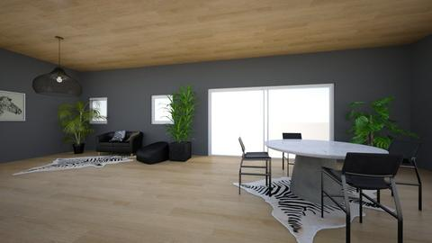 black interior - Modern - by malia_s