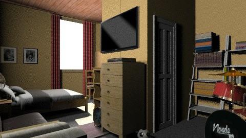 pieza de diego y yo - Classic - Bedroom - by puentecita