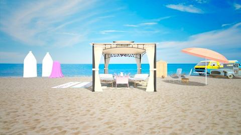 Beach scene - Garden  - by janAllan