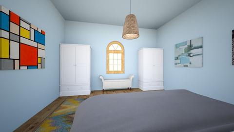 Bedrooms Angle 2 - Modern - Bedroom  - by chunkeyMonkeyMan365