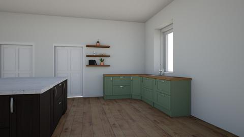 vilage - Kitchen - by victoriaorrhov