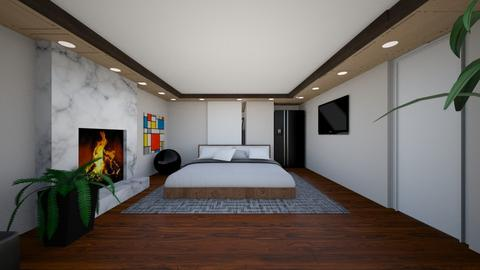 Nicholas Nicolls 1 - Modern - Bedroom  - by nicolln20