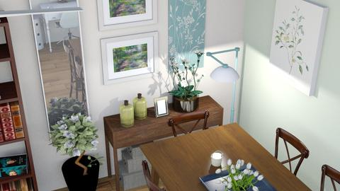 Cozy Chic Living - Eclectic - Living room  - by fashionistafalida