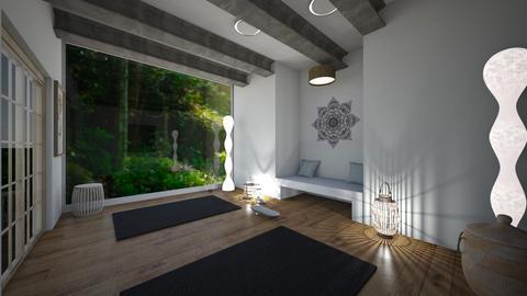 yoga room 2 - by tessmcquillan