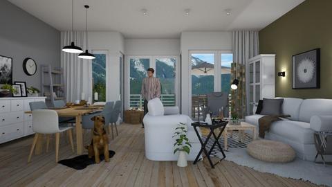 Scandic Living - Living room  - by Eleonor Debus