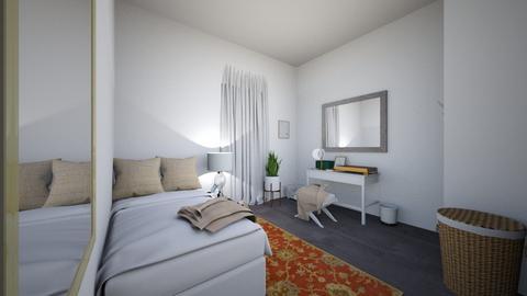 DANI ROOM - Minimal - Bedroom - by DANIELA MONTEMAYOR
