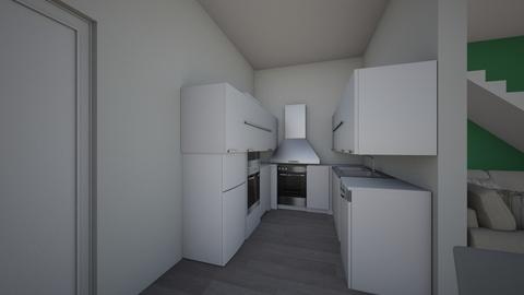Floor semiopen 1 - Kitchen  - by Sere17