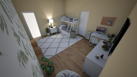 dream room 2 - Bedroom  - by grackiswack