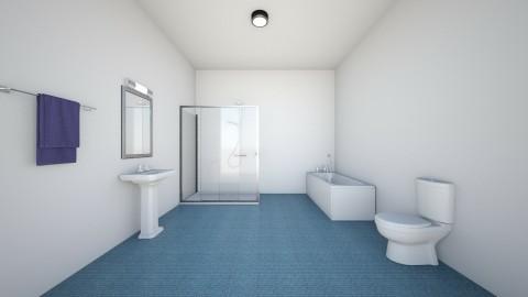 kid room bathroom  - Classic - Bathroom  - by rayyan