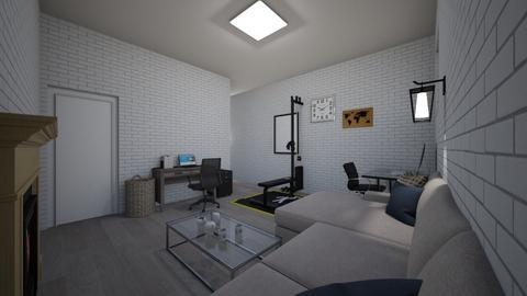 Room style underground - Modern - Living room  - by Drassus
