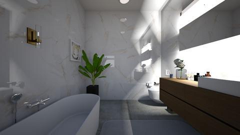 modern fun bath  - Modern - Bathroom  - by valerie libert