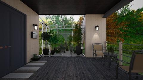 greenhouse porch - by allday08